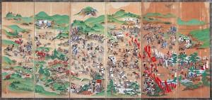 Sekigahara Kassen Byōbu 関ヶ原合戦屏風